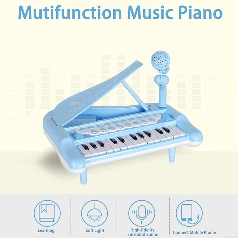 Principiante-di-Strumento-Musicale-Pianoforte-Elettronico-Multifunzionale-C-H8T7 miniatura 11
