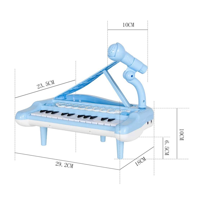 miniatura 10 - Principiante-di-Strumento-Musicale-Pianoforte-Elettronico-Multifunzionale-C-H8T7