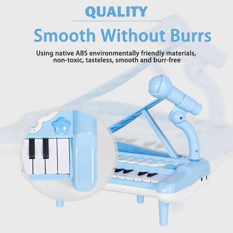 miniatura 16 - Principiante-di-Strumento-Musicale-Pianoforte-Elettronico-Multifunzionale-C-H8T7