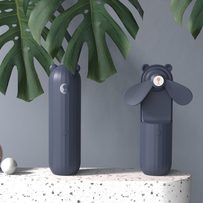 Mini-Ventiladores-PortaTiles-de-Mano-Lovely-Small-Bear-USB-Ventilador-de-Es-E9K7 miniatura 3