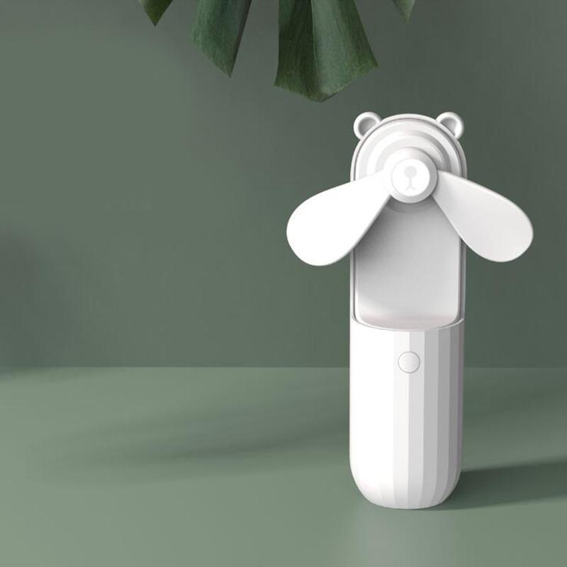 Mini-Ventiladores-PortaTiles-de-Mano-Lovely-Small-Bear-USB-Ventilador-de-Es-E9K7 miniatura 6