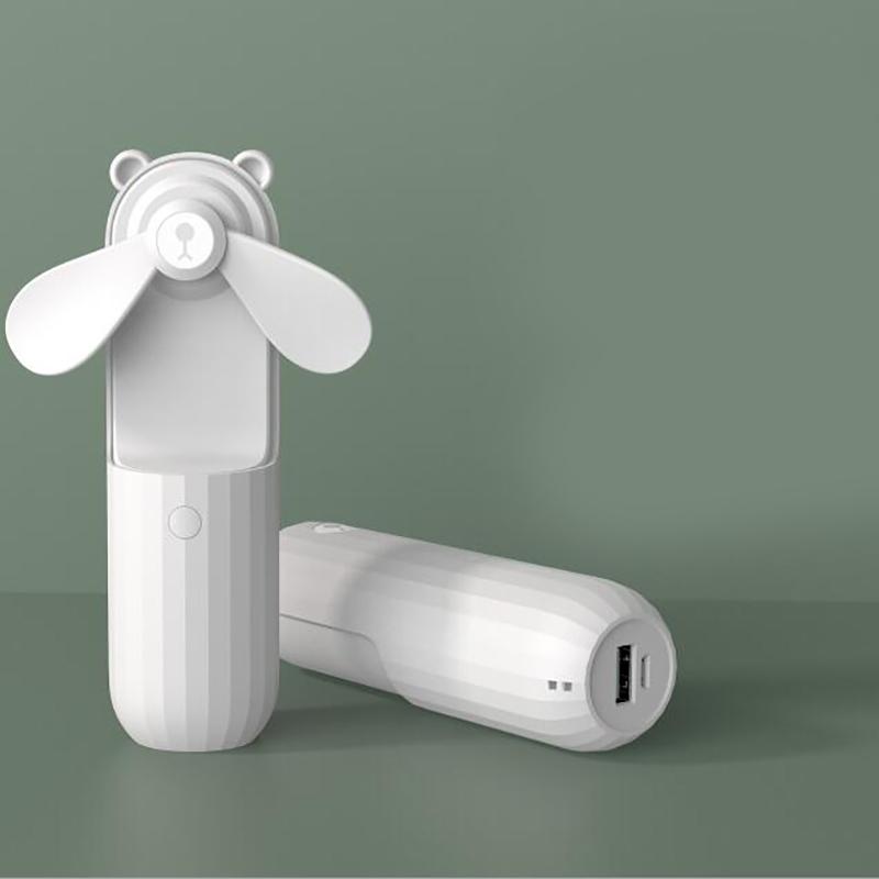Mini-Ventiladores-PortaTiles-de-Mano-Lovely-Small-Bear-USB-Ventilador-de-Es-E9K7 miniatura 10