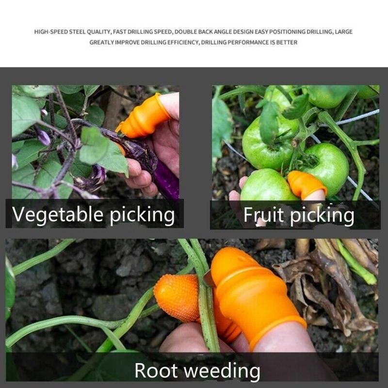 miniatura 4 - Coltello per Verdure Agricolo Pluck con Dispositivo di Taglio A Pollice in C1F7