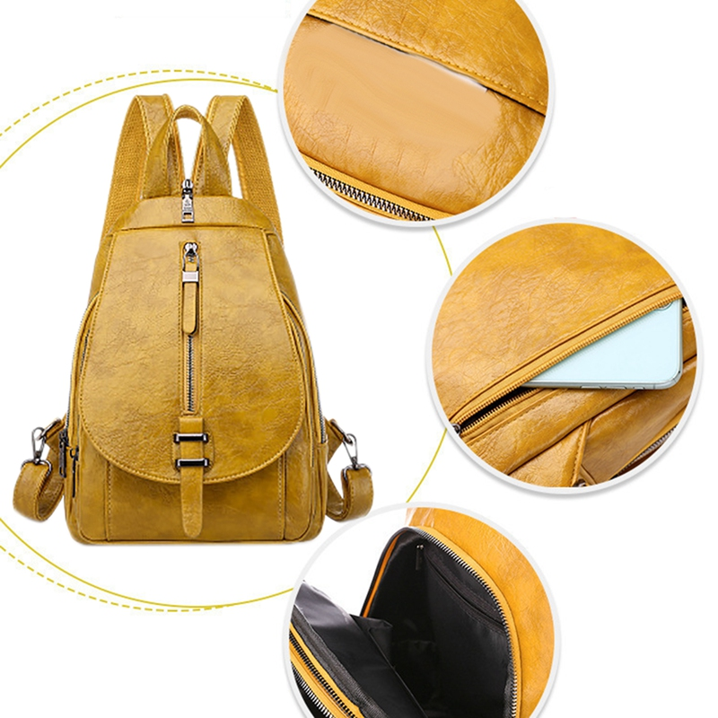 Women-039-s-Small-Backpack-Backpack-Travel-Back-Bag-Chest-Shoulder-Bag-DiagonalX8T5 thumbnail 6