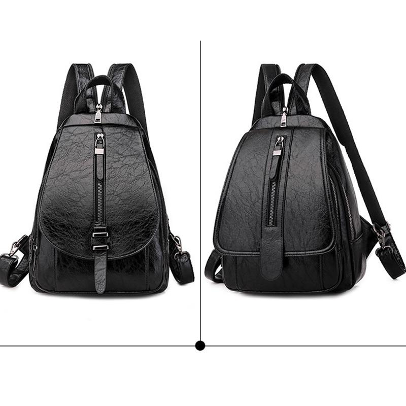 thumbnail 7 - Women-039-s-Small-Backpack-Backpack-Travel-Back-Bag-Chest-Shoulder-Bag-DiagonalX8T5