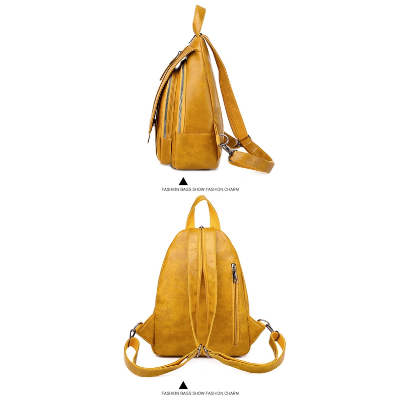 Women-039-s-Small-Backpack-Backpack-Travel-Back-Bag-Chest-Shoulder-Bag-DiagonalX8T5 thumbnail 8