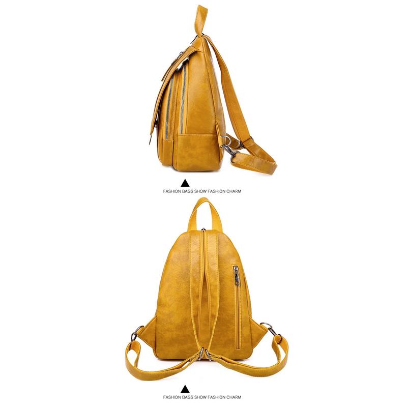 thumbnail 22 - Women-039-s-Small-Backpack-Backpack-Travel-Back-Bag-Chest-Shoulder-Bag-DiagonalX8T5