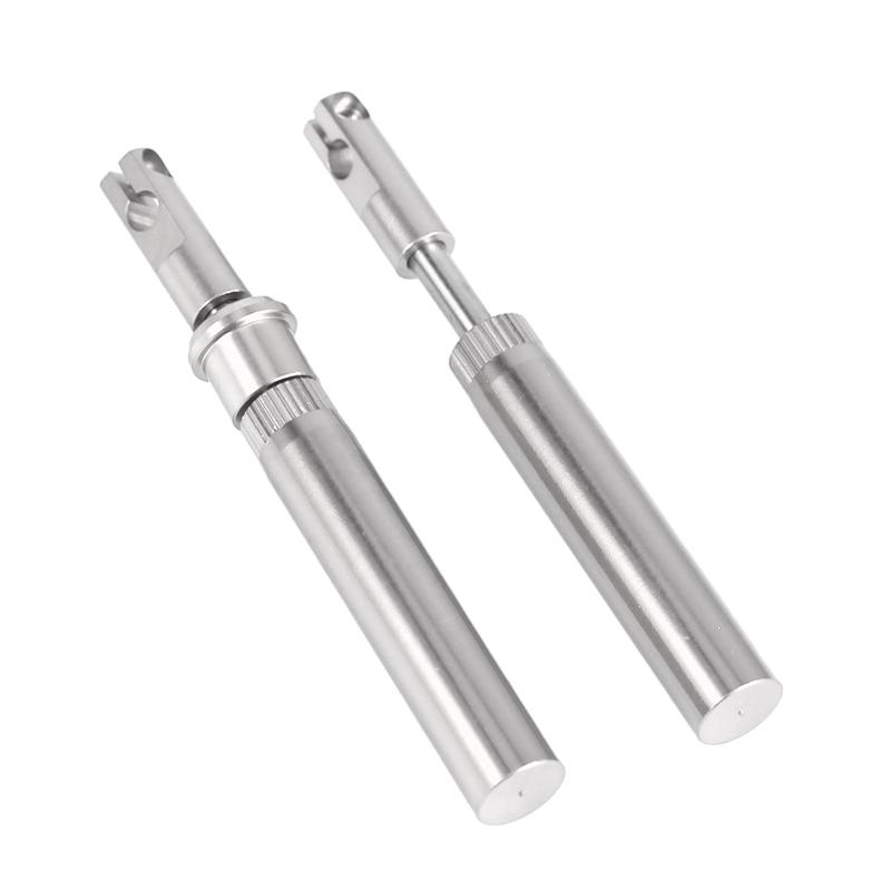 2PCS-Amortiguador-Delantero-de-Metal-Mejorado-para-X-Rider-Flamingo-1-8-RC-E3T1 miniatura 13