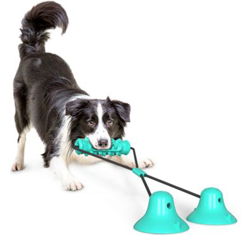 Dog-Molar-Toy-Multifunction-Pet-Chew-Toys-Double-Suction-Cup-Dog-Pull-Ball-F3I2 thumbnail 6