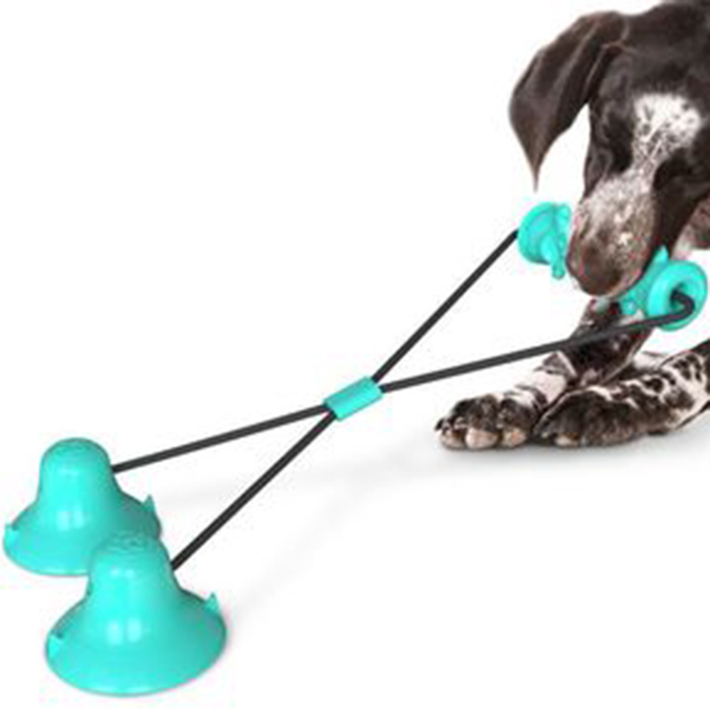 Dog-Molar-Toy-Multifunction-Pet-Chew-Toys-Double-Suction-Cup-Dog-Pull-Ball-F3I2 thumbnail 7