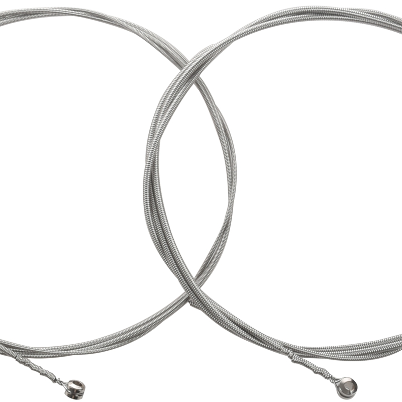 Orphee-Corde-Per-Basso-Elettrico-Serie-Steel-Steel-Filo-Esagonale-Medium-Li-Y4X4 miniatura 8