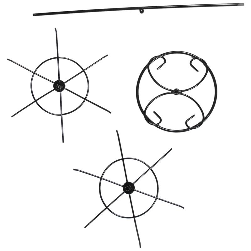 Indexbild 3 - Doppelter Metall Schmuck Rahmen Ohrring Halsketten Armband Ausstellungs Sta U1I3