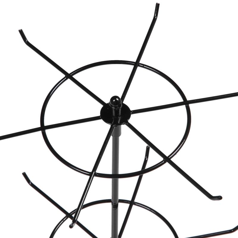 Indexbild 7 - Doppelter Metall Schmuck Rahmen Ohrring Halsketten Armband Ausstellungs Sta U1I3