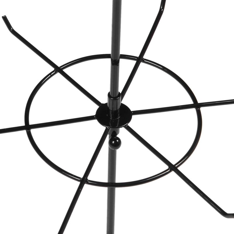 Indexbild 8 - Doppelter Metall Schmuck Rahmen Ohrring Halsketten Armband Ausstellungs Sta U1I3