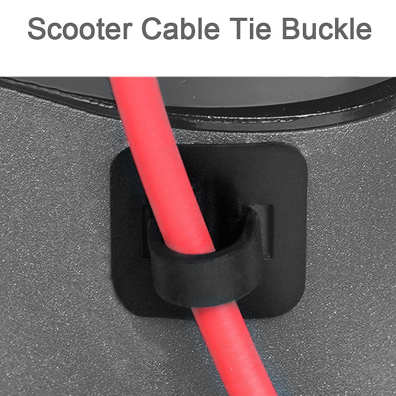 4Pcs-Electric-Scooter-Cable-Tie-Buckle-Organizer-for-Xiaomi-Mijia-M365-M5O6 thumbnail 4