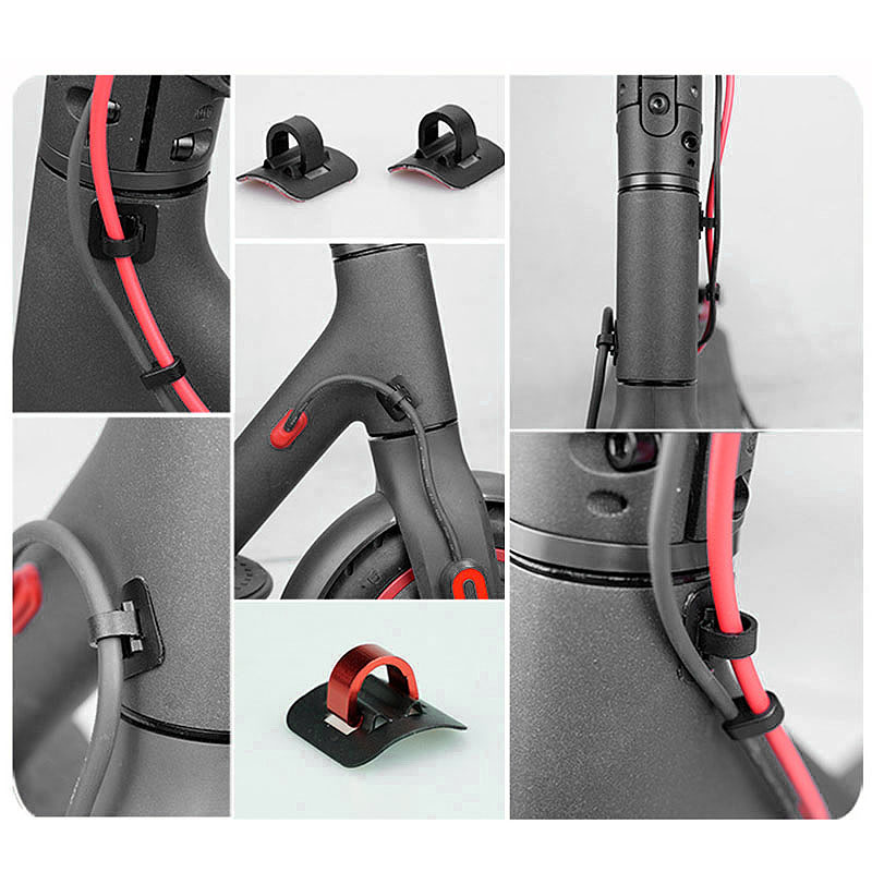 4Pcs-Electric-Scooter-Cable-Tie-Buckle-Organizer-for-Xiaomi-Mijia-M365-M5O6 thumbnail 7