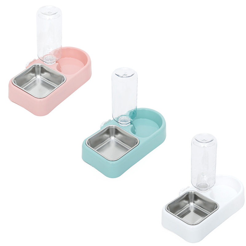 thumbnail 13 - Automatic Pet Food Feeder Drinking Water Fountains for Cats Dogs Pet Water N2X3