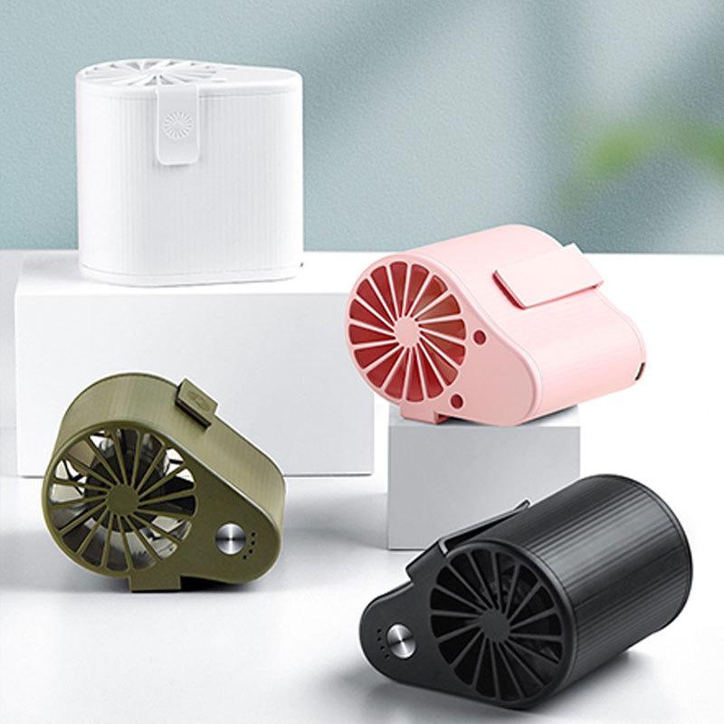 miniature 7 - 1X-Taille-Suspendue-Portable-Mini-Ventilateur-Refroidisseur-USB-pour-Bureau-L3F7