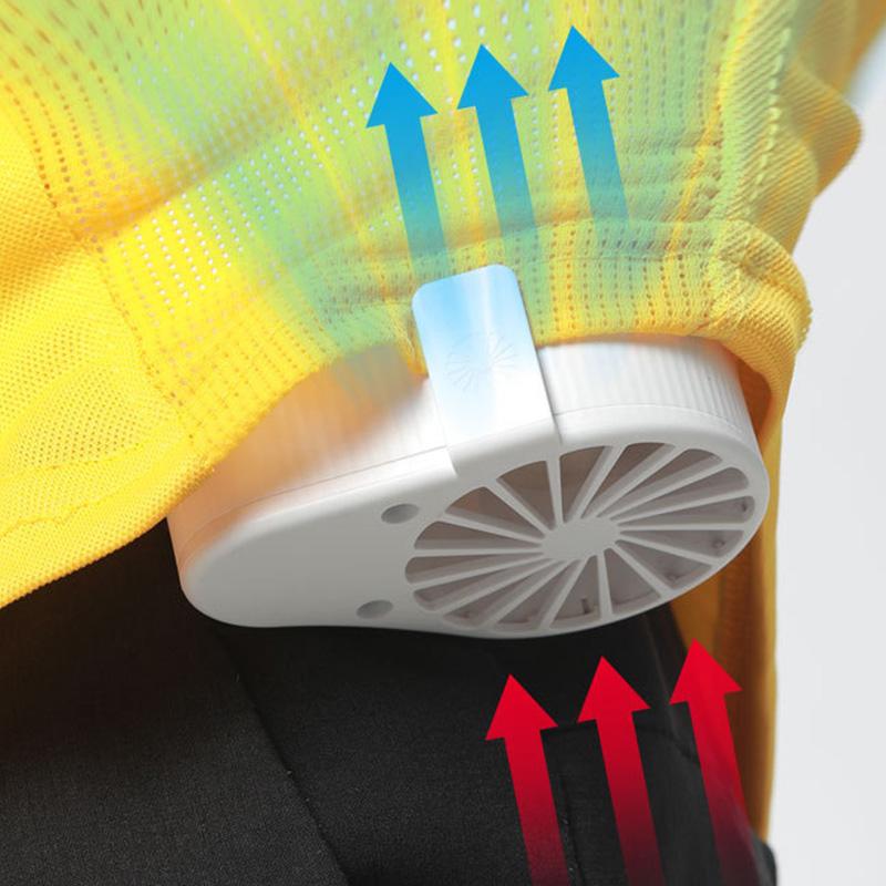 miniature 8 - 1X-Taille-Suspendue-Portable-Mini-Ventilateur-Refroidisseur-USB-pour-Bureau-L3F7