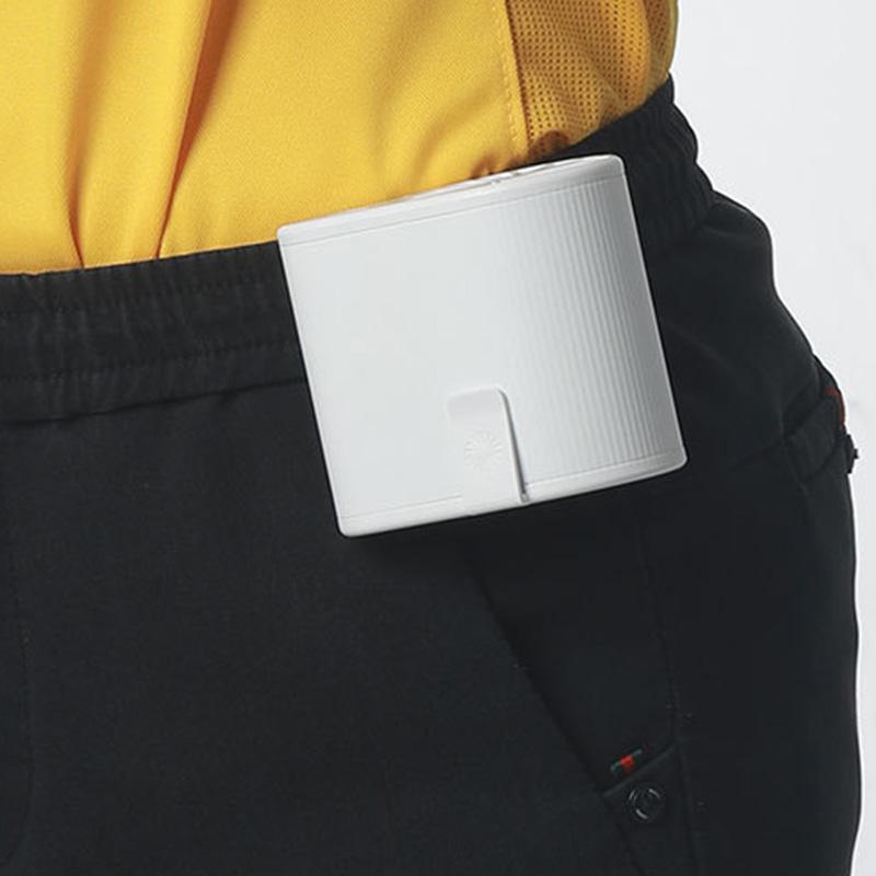 miniature 12 - 1X-Taille-Suspendue-Portable-Mini-Ventilateur-Refroidisseur-USB-pour-Bureau-L3F7