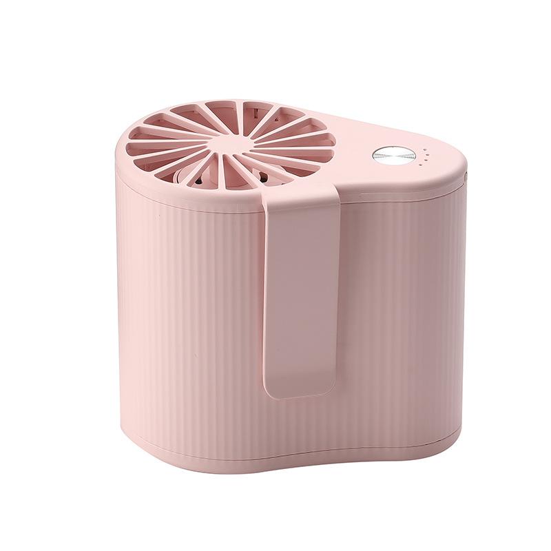 miniature 9 - 1X-Taille-Suspendue-Portable-Mini-Ventilateur-Refroidisseur-USB-pour-Bureau-L3F7