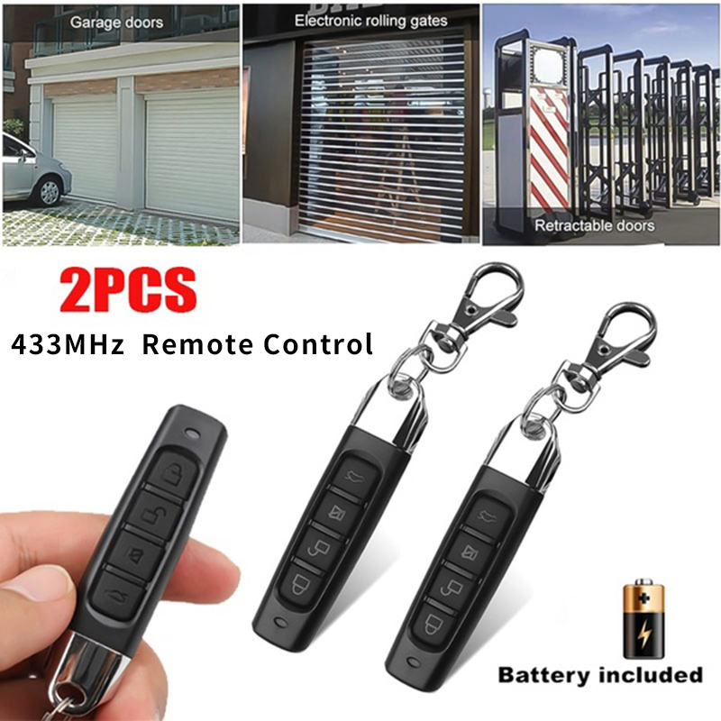1X-433MHZ-Remote-Control-Garage-Gate-Door-Opener-Remote-Control-Duplicator-J6H2 thumbnail 2