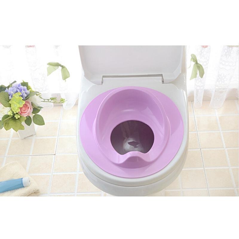 thumbnail 3 - 1X(Baby Toilet Potty Training Seat Kids Potty Seat Pad Non-Slip Splash Guar W6S8