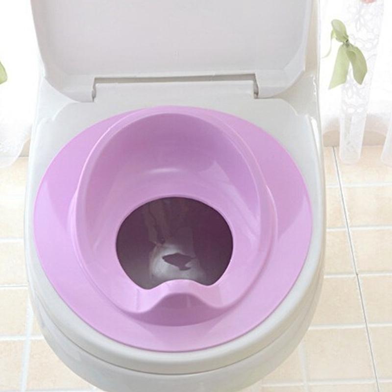 thumbnail 4 - 1X(Baby Toilet Potty Training Seat Kids Potty Seat Pad Non-Slip Splash Guar W6S8