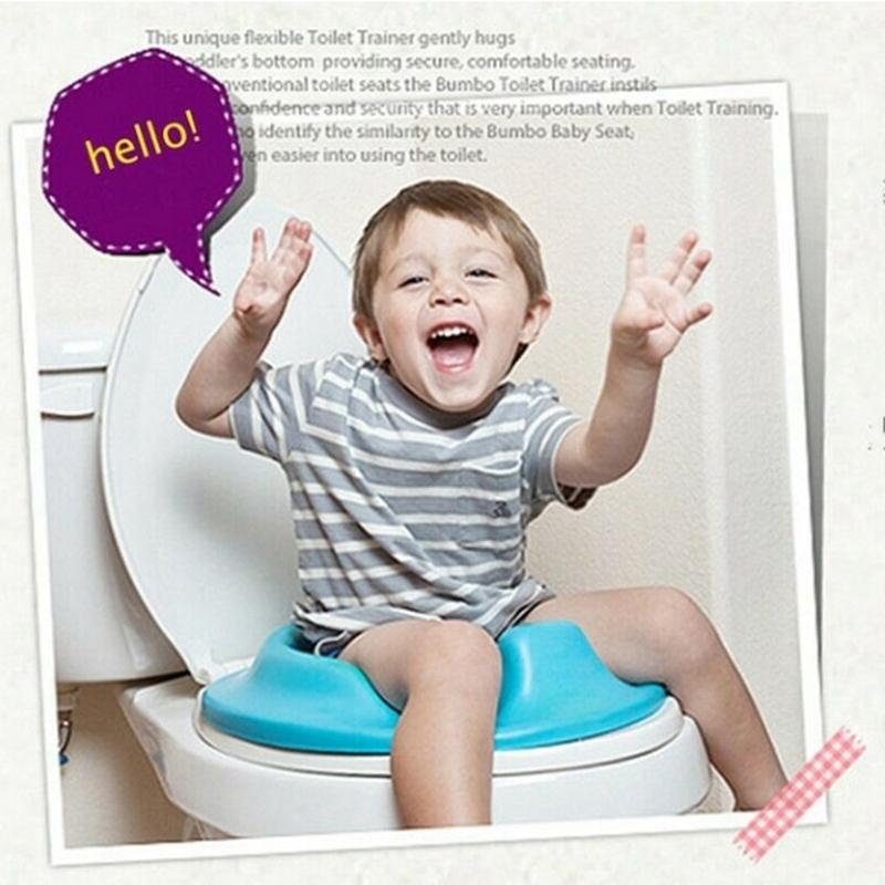 thumbnail 11 - 1X(Baby Toilet Potty Training Seat Kids Potty Seat Pad Non-Slip Splash Guar W6S8