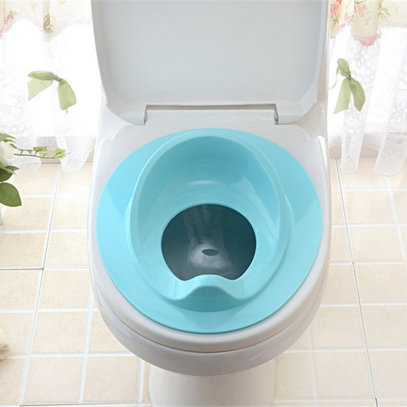 thumbnail 12 - 1X(Baby Toilet Potty Training Seat Kids Potty Seat Pad Non-Slip Splash Guar W6S8