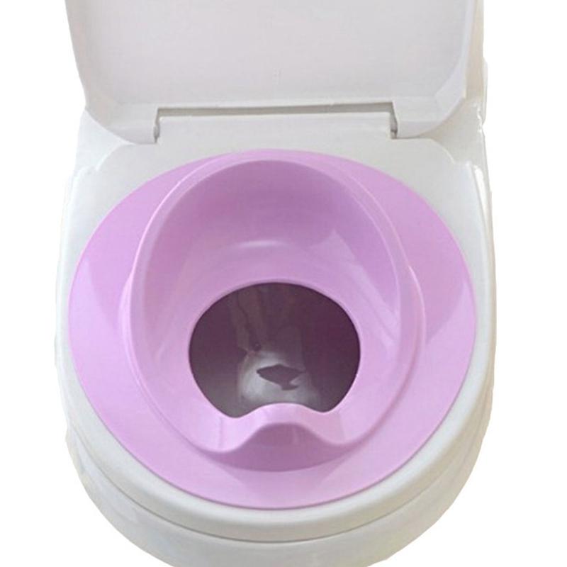 thumbnail 16 - 1X(Baby Toilet Potty Training Seat Kids Potty Seat Pad Non-Slip Splash Guar W6S8