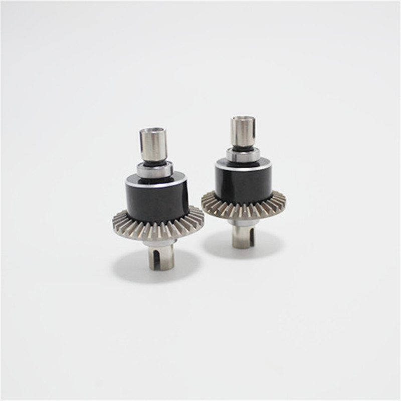 1X-fuer-Wltoys-144001-1-14-Rc-Auto-Metall-Upgrade-Differential-Box-Fall-Upgr-O1Q8 Indexbild 4