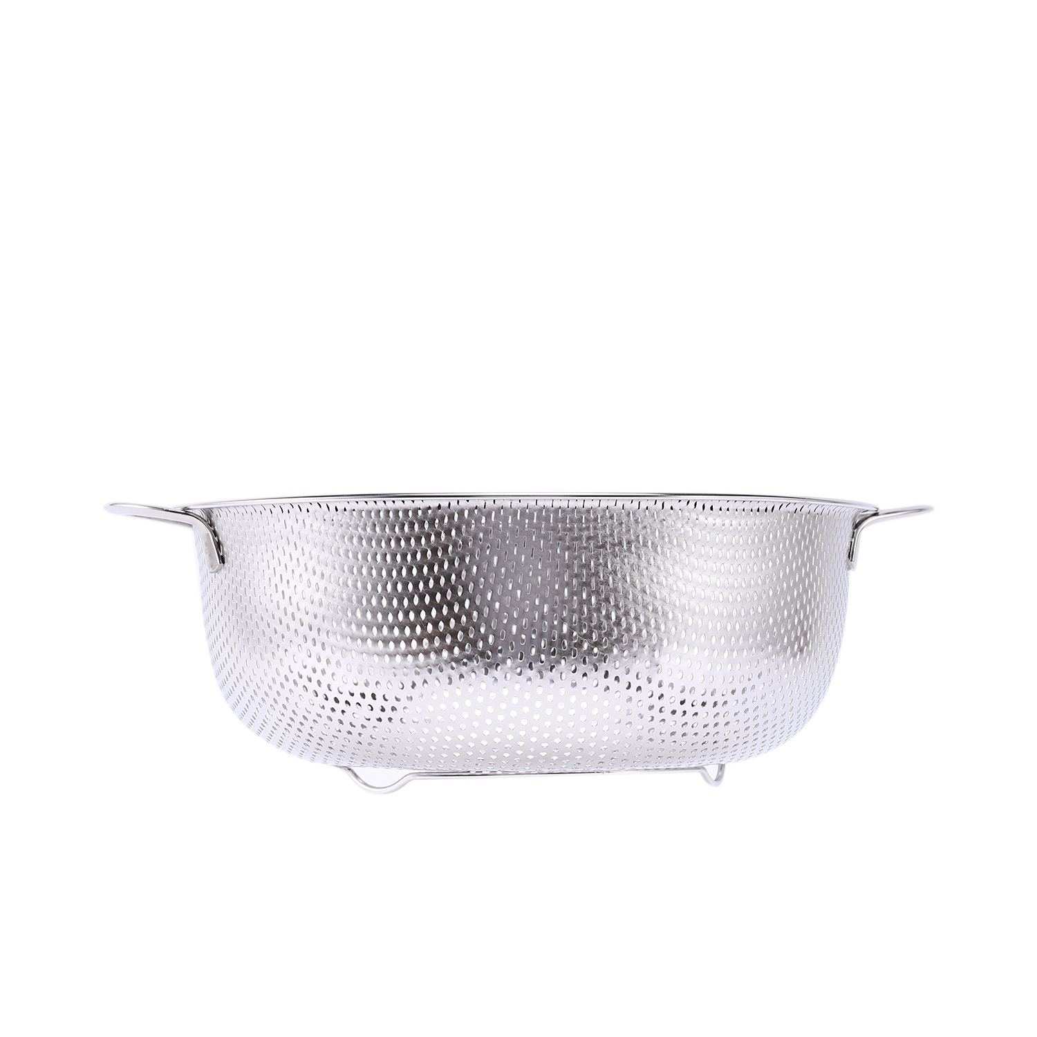 thumbnail 4 - Stainless Steel Colanders With Handle,Colander Perforated Strainer For Kitc D1Z4