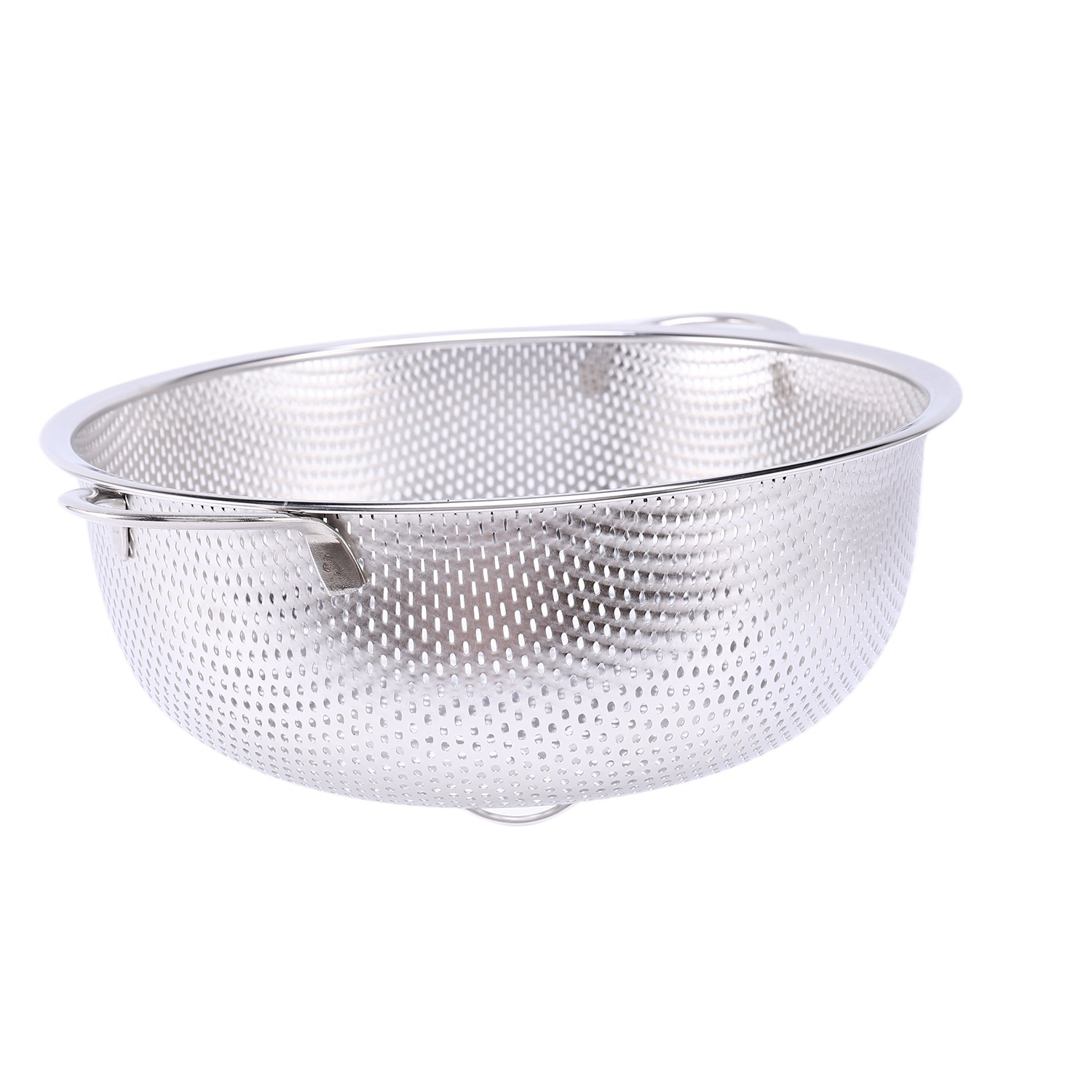 thumbnail 6 - Stainless Steel Colanders With Handle,Colander Perforated Strainer For Kitc D1Z4