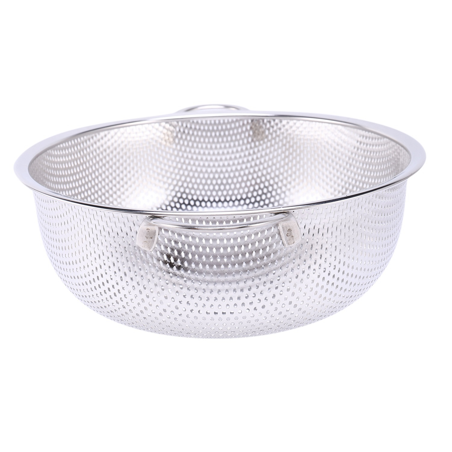 thumbnail 7 - Stainless Steel Colanders With Handle,Colander Perforated Strainer For Kitc D1Z4