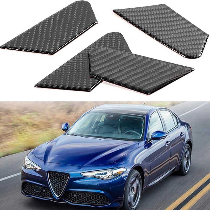 Indexbild 3 - Kohle Faser Innen TüR Schalen Abdeckung Auto ZubehöR Kompatibel mit Alfa Ro V5I5