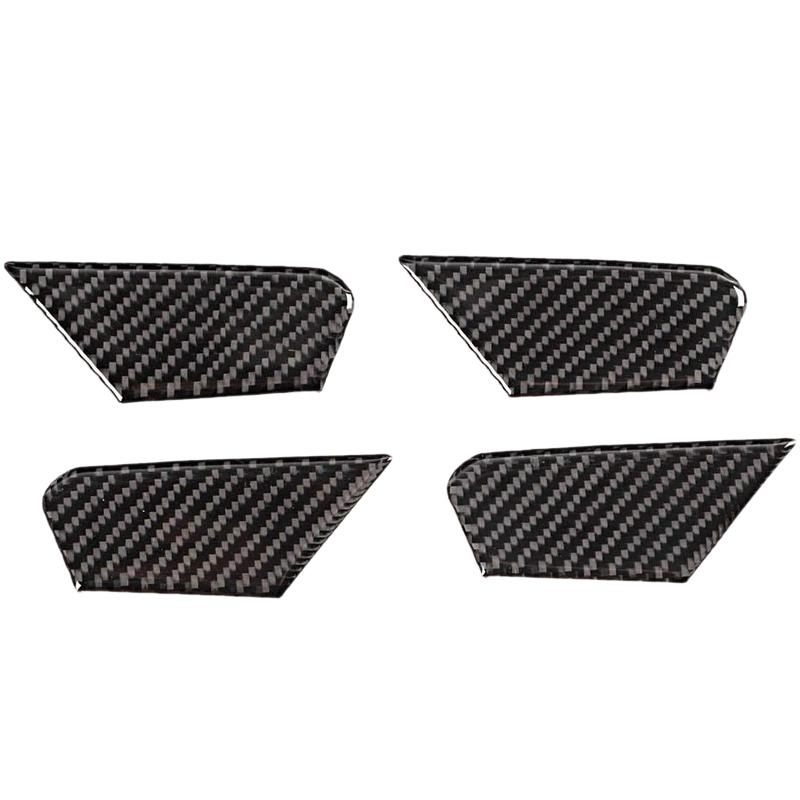 Kohle Faser Innen TüR Schalen Abdeckung Auto ZubehöR Kompatibel mit Alfa Ro V5I5