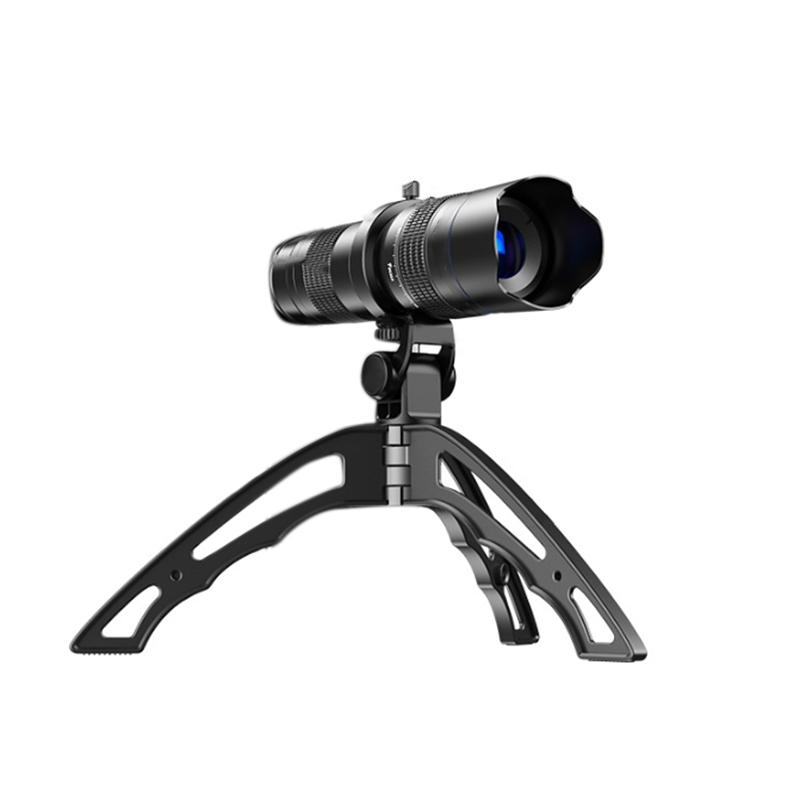 20-40X Telephoto Zoom Lens Monocular+Selfie Tripod for ...