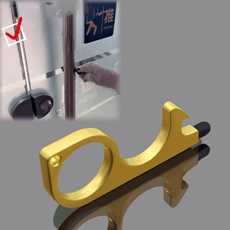 miniature 8 - 4 PCS Ouvre-Porte Sans Contact PoignéE de Porte Clé PoignéE Auxiliaire Isol G9D6