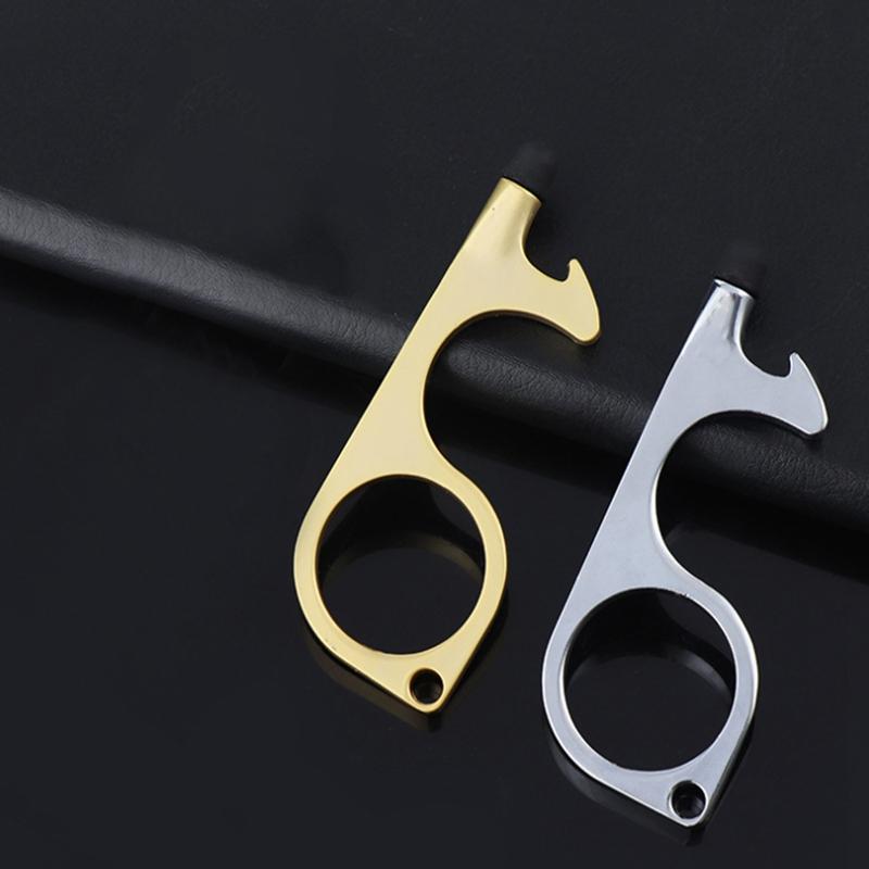 miniature 9 - 4 PCS Ouvre-Porte Sans Contact PoignéE de Porte Clé PoignéE Auxiliaire Isol G9D6