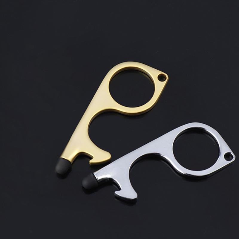 miniature 21 - 4 PCS Ouvre-Porte Sans Contact PoignéE de Porte Clé PoignéE Auxiliaire Isol G9D6