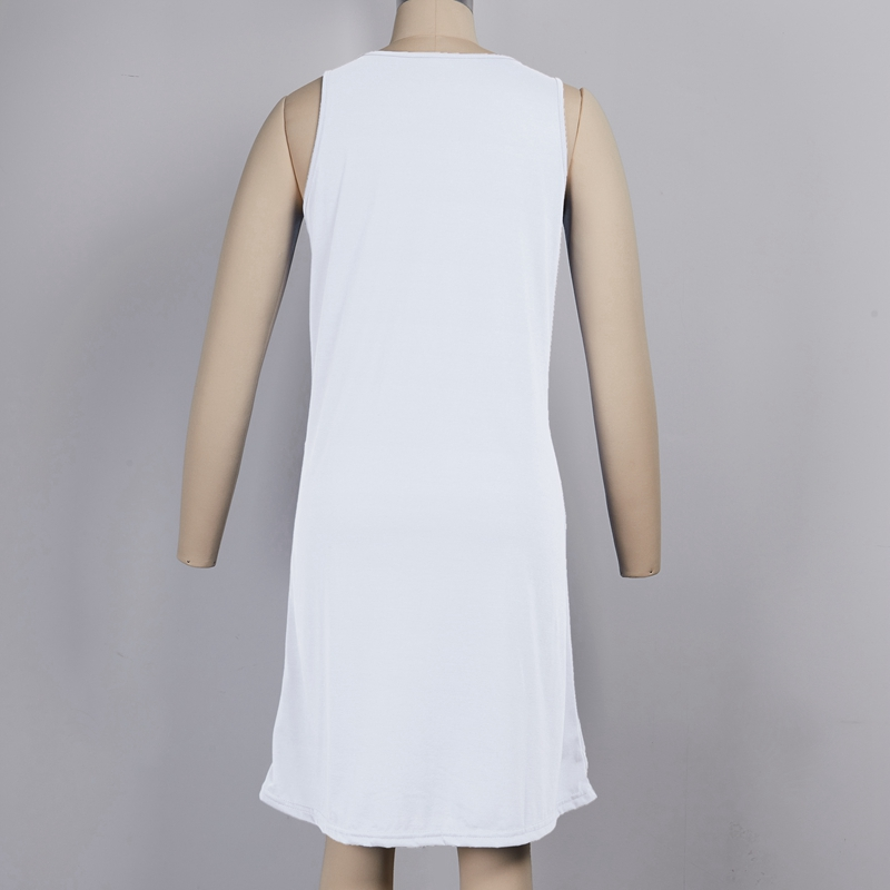 miniature 6 - 1X-Robe-D-039-eTe-Sans-Manches-DeContracteE-Sans-Manches-pour-Femmes-I7C4