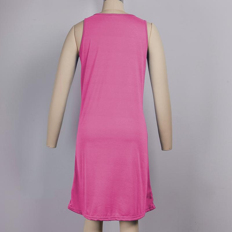 miniature 16 - 1X-Robe-D-039-eTe-Sans-Manches-DeContracteE-Sans-Manches-pour-Femmes-I7C4
