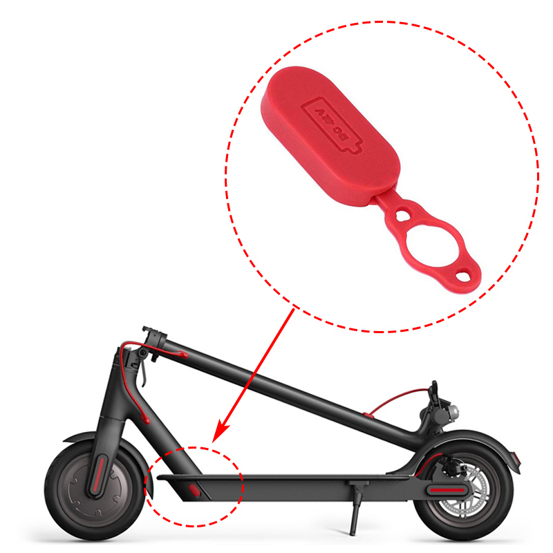Electric-Scooter-Rear-Mudguard-Bracket-Dashboard-Cover-Hook-Damping-Fender-E1H8 thumbnail 11