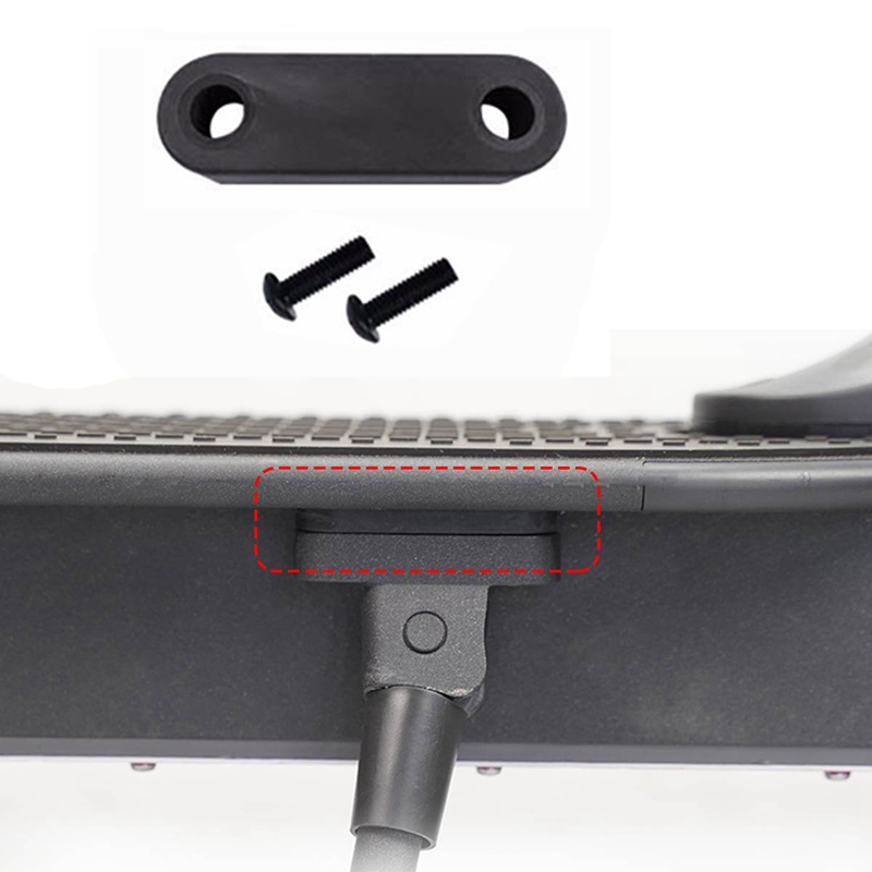 Electric-Scooter-Rear-Mudguard-Bracket-Dashboard-Cover-Hook-Damping-Fender-E1H8 thumbnail 10