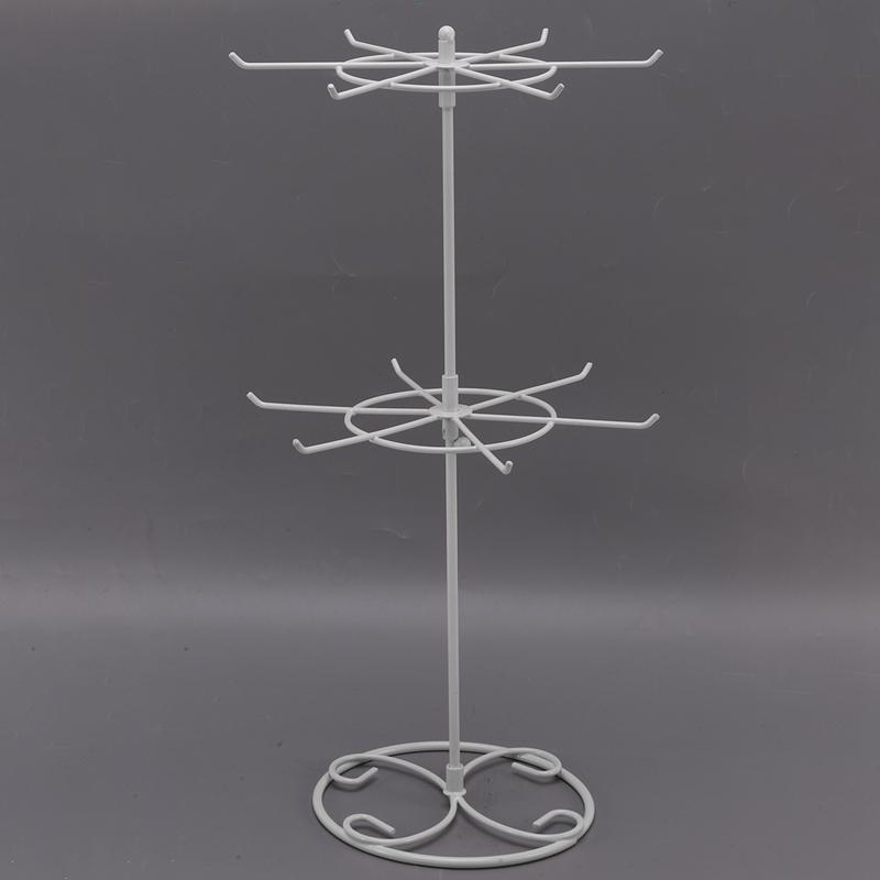 Indexbild 11 - Doppelter Metall Schmuck Rahmen Ohrring Halsketten Armband Ausstellungs Sta U1I3