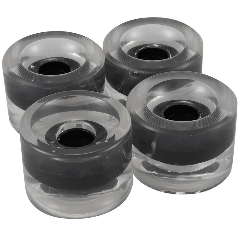 miniatura 4 - 4 Piezas en Blanco Longboard Cruiser Skateboard Wheels 70X51Mm 80A Parts J8X6