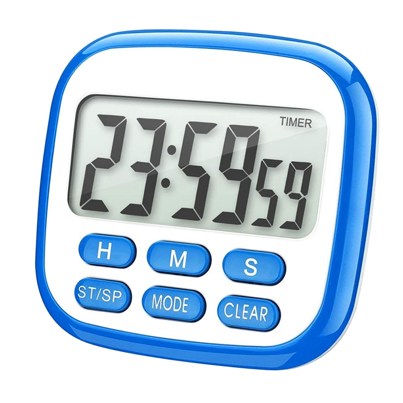 10xkitchen timer 24hours digital timer with loud alarm