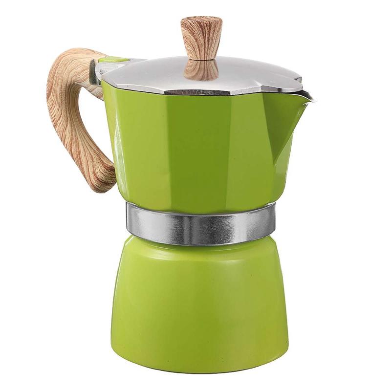 miniature 21 - 1X-Aluminium-Moka-Espresso-Machine-a-Cafe-Filtre-Poele-Poele-Pot-3-Tasses-I3Z4