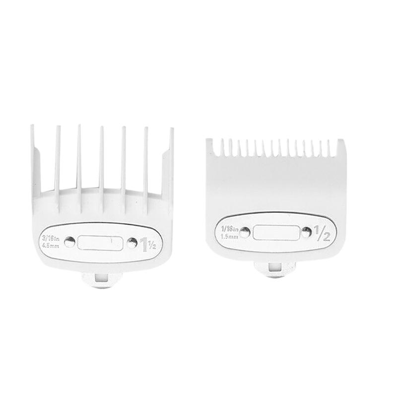 10X(2PCS/Set Hair Clipper Combs Guide Kit Hair Trimmer Guard